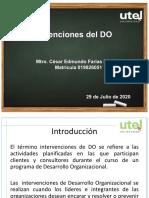 Open Class Semana 4 Intervenciones del DO 1