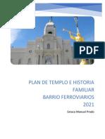 PLAN DE TEMPLO E HISTORIA FAMILIAR para 2021