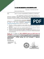 MEMORÁNDUM MÚLTIPLE Nº 193-2021-DIVOPUS-PNP DEL 02MAR2021