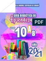 GUIA DE APRENDIZAJE 10°
