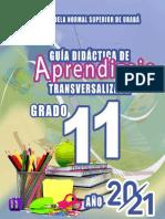 GUÍA DE APRENDIZAJE 11°