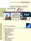 Foreign Institutional Investor Vikas