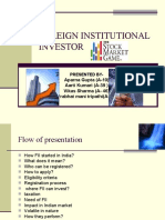 Foreign Institutional Investor Vikas