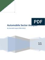 Automobile analysis (1)