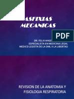 Traumatología Forense VII (Asfixias mécanicas)