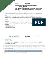 Diseño Metodológico de La Reunión de Reforzamiento SEA