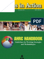 ETHICS IN ACTION-Handbook of Guidelines for Working Strategies and Methodologies