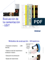 Evaluacion de Cementacion CBL USIT Capacitacion