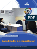 Modulo de Capacitacion Del Coordinador de Capacitación EG2021
