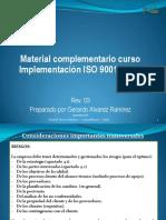 Material Complementario Curso Implementacion Norma ISO 9001 Rev 3