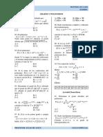 2. Grados y Polinomios