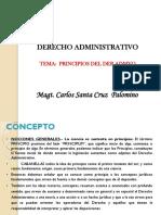 Clase virtual 09 - 10 - Principios del derecho Administrativo. (1)