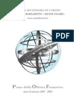 Caduti di Marzabotto - Giulio Cesare - P.O.F. 2007-08