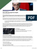 nCoV - Impfung - 2021-01-17 - Grundrechte - Maas will Lockerungen für Geimpfte | tagesschau.de