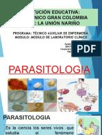 3 ). Parasitologia, Inmunologia, Banco de Sngre y Toma de Muestras