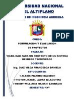 TRABAJO VIABILIDAD DE RIEGO TECNIFICADO