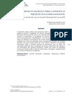 1170-1186 - QUALIDADE NA SEGURANÇA PÚBLICA MUNICIPAL NA PERCEPÇÃO DOS GUARDAS MUNICIPAIS