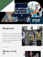 Mental Health in Quarantine