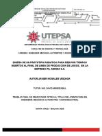 ROBOT SEMINARIO DE GRADO 2 - JAVIER NOGALES V2