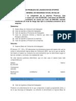 SITUACIONES PROBLEAS DE LIQUIDACION DE APORTES