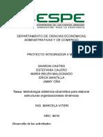 Metodología Sistémica-cibernética Para Elaborar Estructuras Organizacionales Dinámicas