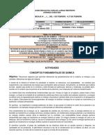 QUIMICA CICLO V. GUIA 1