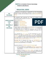 Reglas de juego Informática - Word y Excel