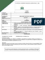 GUIA N° 2- ALGEBRA 8 GRADO PRIMER PERIODO 2021.