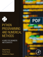Python Programming Numerical Methods Scientists (1)