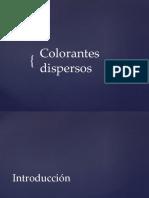 COLORANTES DISPERSOS