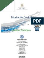 9 Priorizacion Curricular -Ciencias Naturales