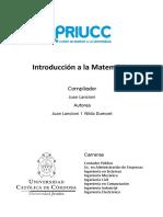 1. Introducción a la Matemática autor Juan Lancioni y Nilda Dumont