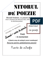 Revista Monitorul de Poezie 28.2021