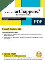 om chuajedton - how art happens