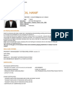 CV Afdil Hanif