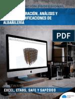 Brochure Ep Estructuración, Análisis y Diseño de Edificaciones de Albañilería