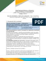 Guía de actividades y rúbrica de evaluación - Unidad 2 - Fase 3 - Identificar retos de la organización derivados de los vínculos internos y con actores