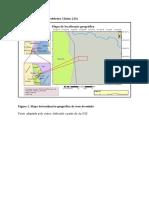 Mapa de localizacao da peddreira Chiuta LDA
