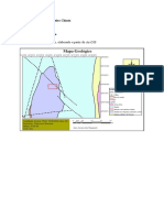 Mapa Geologico da Pedreira Chiuta