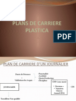 PLAN DE CARRIERE PLASTICA