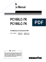 PC160LC-7 Operators Manual
