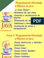 Programación Orientada a Objetos en java1