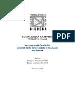 Social Media Analytics research