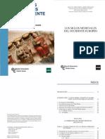 123-LADERO QUESADA, M.F. y LÓPEZ PITA, P. - Los Siglos Medievales Del Occidente Europeo (2016)