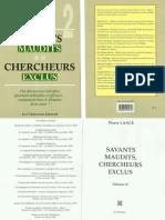 Lance Pierre - Savants Maudits Chercheurs Exclus Volume 2