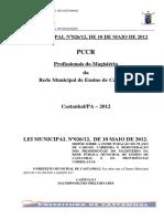 PCCR-Educação Prefeitura de Castanhal