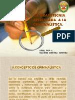 La Grafotecnia Aplicada a La Criminalistica