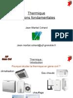 Thermique Notions Fondamentales (1)