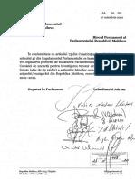Raportul Comisiei de anchetă pentru investigarea tuturor circumstanțelor preluării forțate (atac de tip raider) a acțiunilor băncilor comerciale, companiilor de asigurări/reasigurări