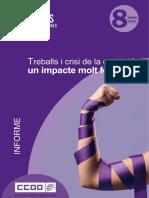 Informe Treballs Crisi Covid Impacte Feminitzat